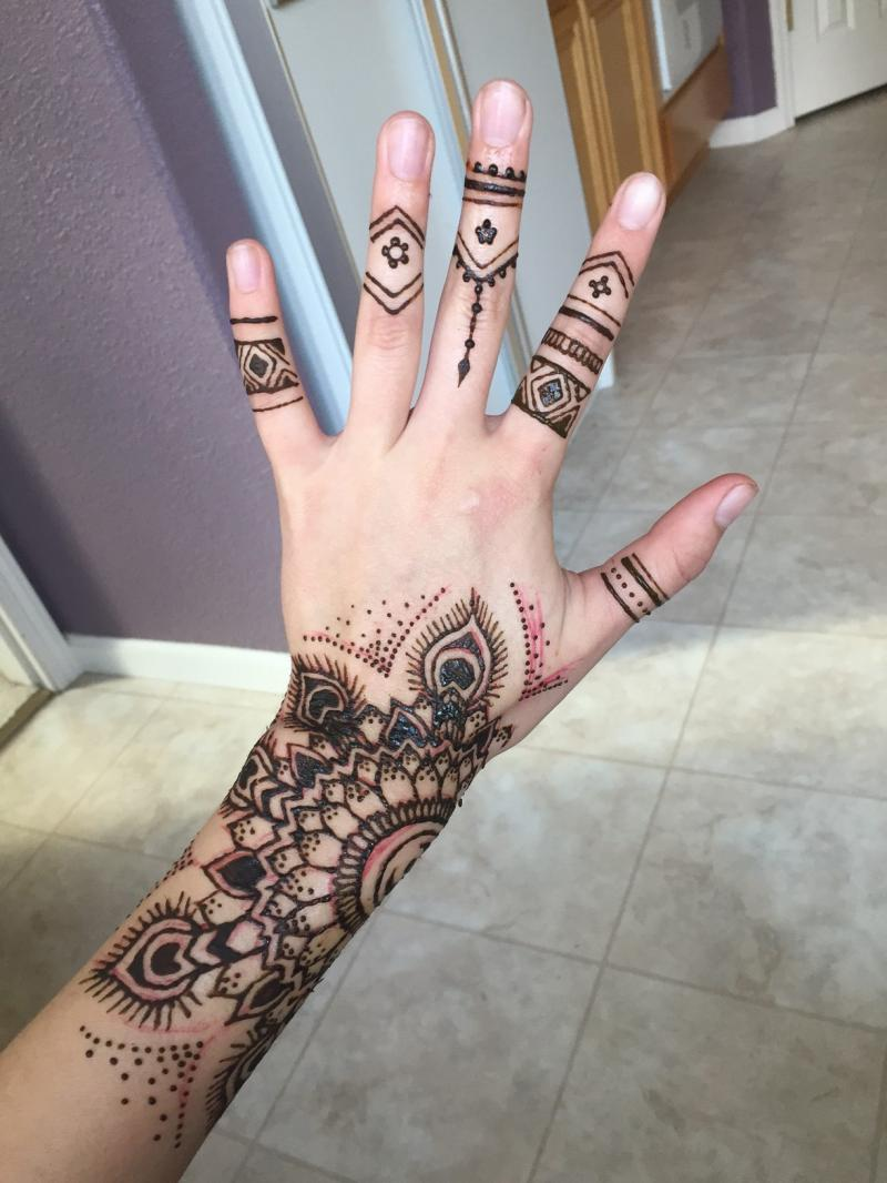 Tat It Up Lela S Hair Salon Henna Designs Here Are Some